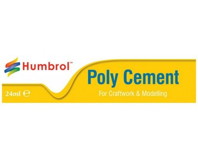 Humbrol Poly Cement 24ml in Tube