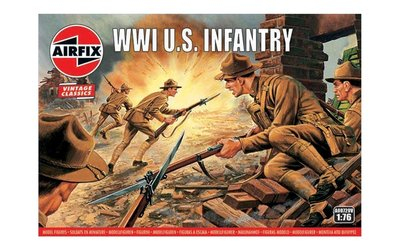 Airfix WWI U.S. Infantry 1:76 (A00729)