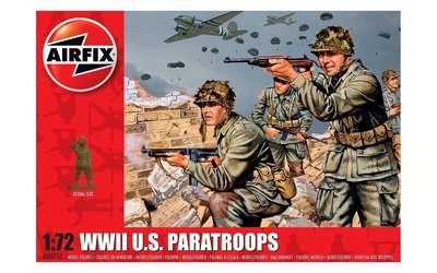 Airfix WWII U.S. Paratroops 1:72 (A00751)