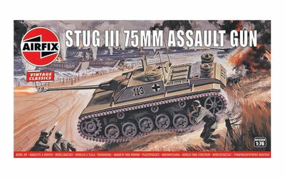 Airfix Stug III 75mm Assault Gun 1:76 (A01306V)