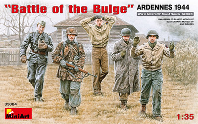 MiniArt Battle of the Bulge Ardennes 1:35 (35084)