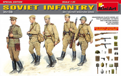 MiniArt Soviet Infantry Special Edition 1:35 (35108)