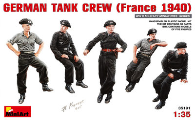 MiniArt German Tank Crew 1:35 (35191)