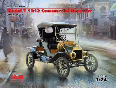 ICM Model T 1912 Commercial Roadster 1:24 (24016)
