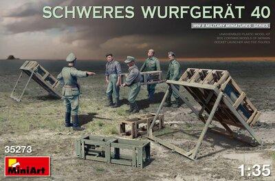 MiniArt Schweres Wurfgerat 40 1:35 (35273)