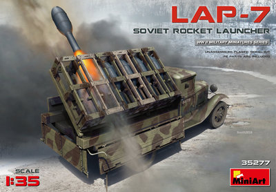MiniArt Soviet Rocket Launcher LAP-7 1:35 (35277)