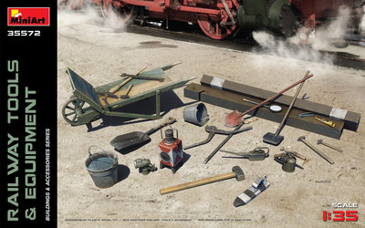 MiniArt Railway Tools and Equipment 1:35 (35572)