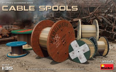 MiniArt Cable Spools 1:35 (35583)