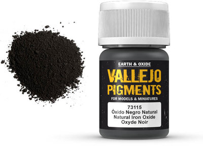 Vallejo Pigment Natural Iron Oxide (73.115)