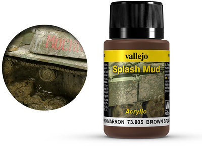 Vallejo Weathering Effects Brown Splash Mud (73.805)