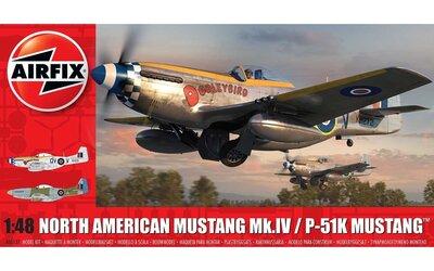 Airfix North American Mustang Mk.IV 1:48 (A05137)