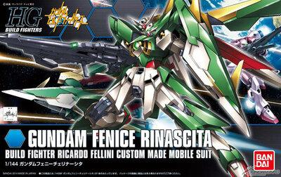 Gundam XXXG-01Wfr Gundam Fenice Rinascita