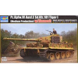 Trumpeter Tiger 1 Zimmerit 1/35 #09539