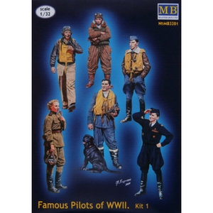 Master Box Famous Pilots of WWII 1/32 #3201