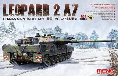 Meng Leopard 2 A7 1/35 #TS027