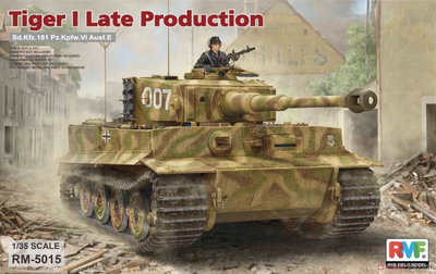 Rye Field Model Tiger I Late Production 1/35 #RM-5015