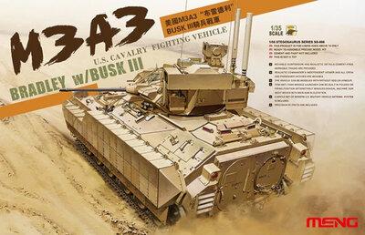 Meng M3A3 Bradley w/BUSK III 1/35 #SS-006