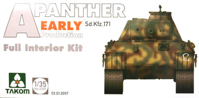 Takom Panther Ausf. A Early 1/35 #2097