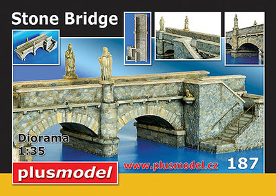 Plus Model Stone Bridge 1/35 #187