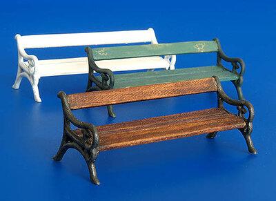 Plus Model Park Benches 1/35 #206