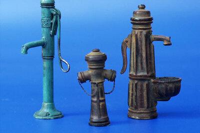 Plus Model Water Pumps 1/35 #054