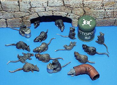 Plus Model Rats 1/35 #171