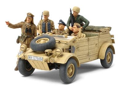 Tamiya 35304 German Kubelwagen Type 82 Ramcke Parachute Brigade 1/35