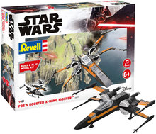 Revell 06777 Star Wars Poe's Boosted X-Wing Fighter
