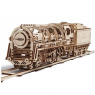UGears Stoom Locomotief (70012)