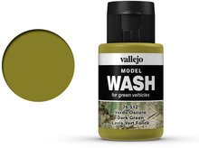 Vallejo Wash Dark Green (76.512)