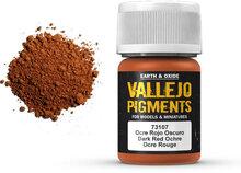 Vallejo Pigment Dark Red Ochre (73.107)