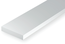 Evergreen 102: Kunststof Strip 0.25mm x 1.0mm