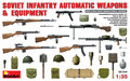MiniArt Soviet Infantry Automatic Weapons and Equipment 1:35 (35154)