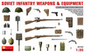 MiniArt Soviet Infantry Weapons & Equipment 1:35 (35102)