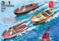 AMT 3in1 Customizing Boat Kit 1/25 (AMT1056)
