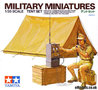 Tamiya Military Miniatures Tent Set 1:35 #35074