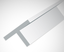 Evergreen 762: Kunststof T-Profiel 1.42 mm
