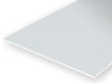 Evergreen 9006: Polystyrene Vlak Clear 0.25 mm