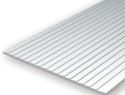 Evergreen 4061: Polystyrene Clapboard Siding 1.5 mm