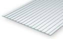 Evergreen 4521: Polystyrene Standing Seam Roof 4.8 mm