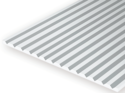 Evergreen 4040: V-Groove 1.0 mm - Spacing 1.0 mm